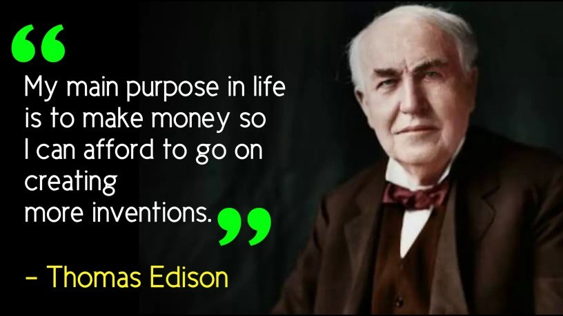 Thomas Edison Images, Thomas Edison Quotes, Thomas Life Lesson Quotes, Thomas Life Biography